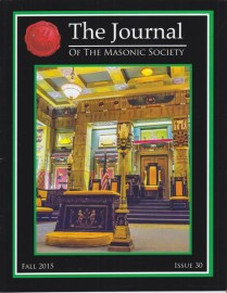 The Journal of The Masonic Society, Issue #30